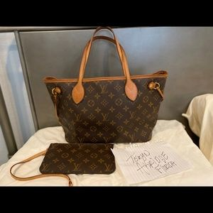 SOLD ON FB-Neverfull Pm with pouch